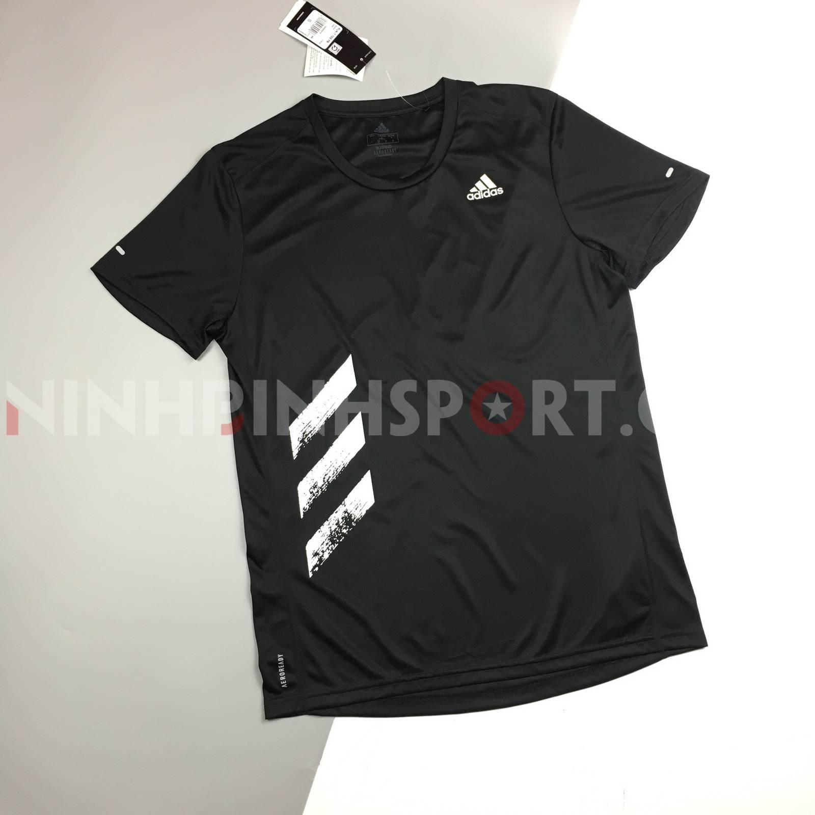 Áo thể thao nam Adidas RUN IT 3-STRIPES PB TEE FR8382