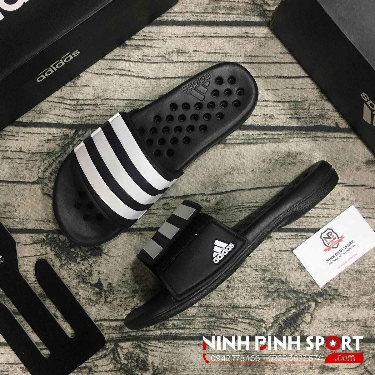 Dép Adidas Alquo Vario Black G57254