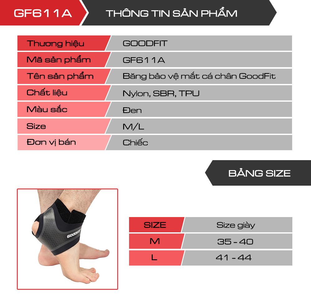 Băng bảo vệ cổ chân, mắt cá chân GoodFit GF611A