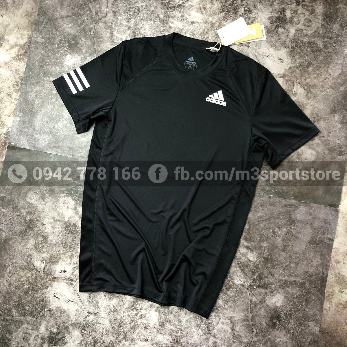 Áo thể thao nam Adidas Club 3 Stripe  GL5403