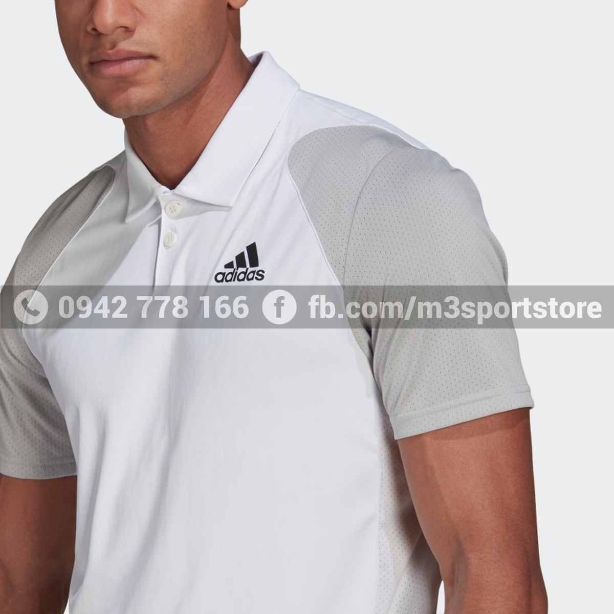 Áo thể thao nam Adidas Polo Tennis Club GL5436