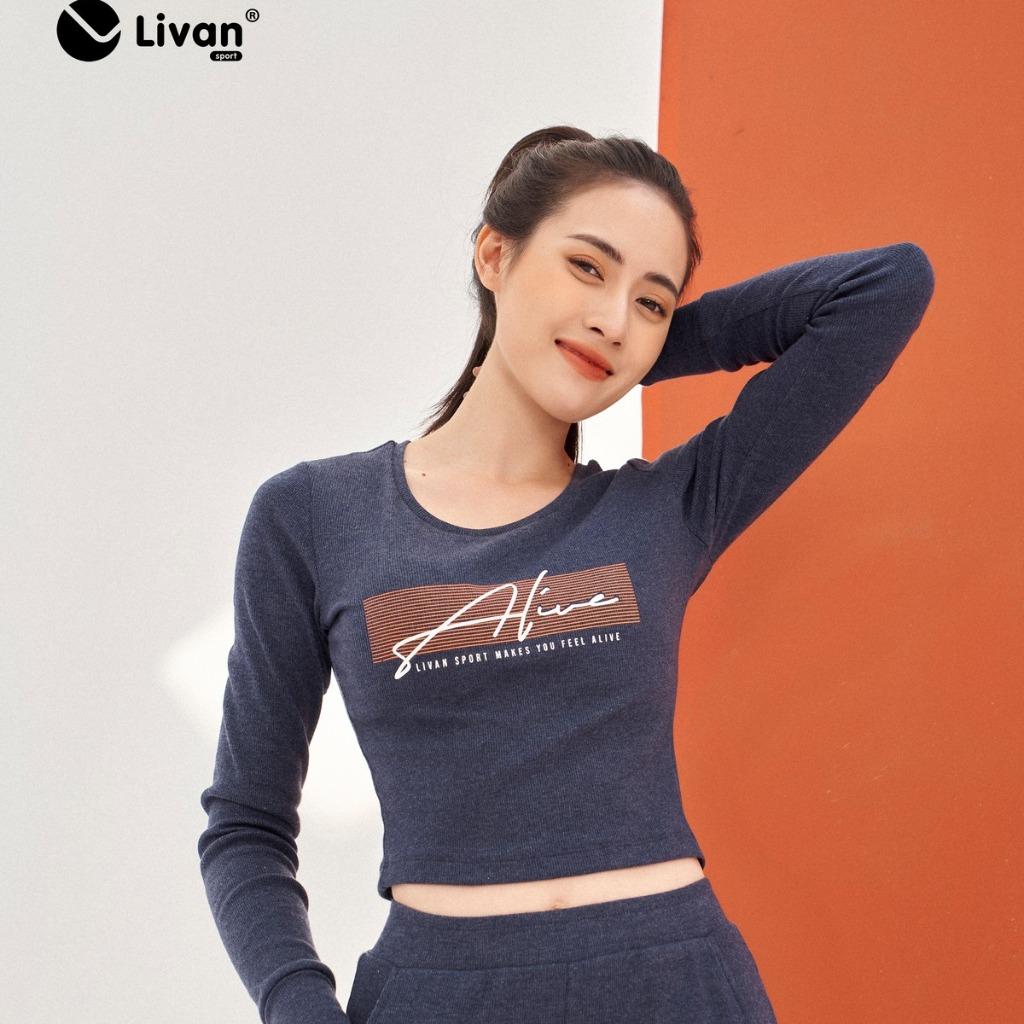 Áo croptop cotton màu xanh than LV202111111-XTH