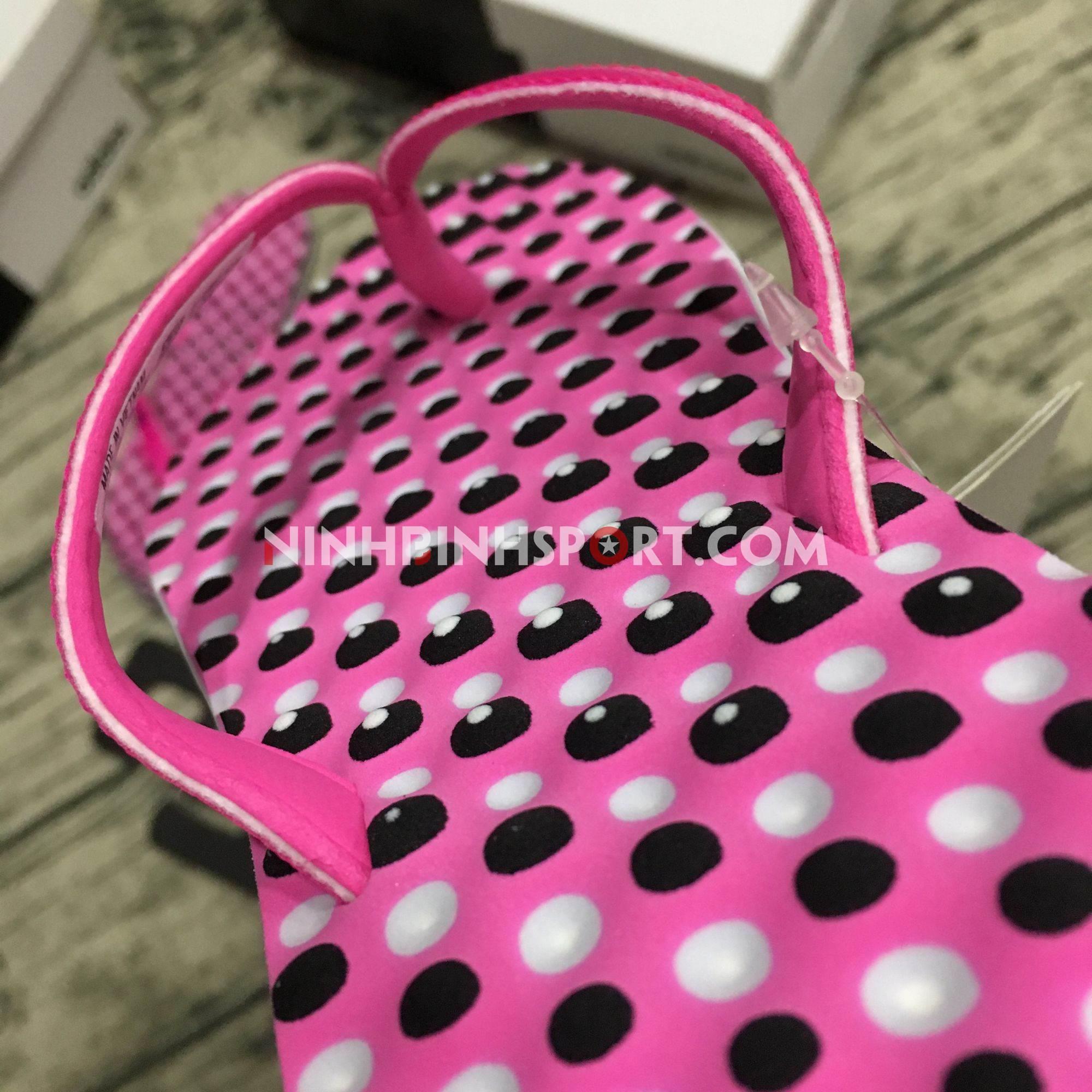 Tông thể thao nữ Adidas Eezay Dots Pink CG3552