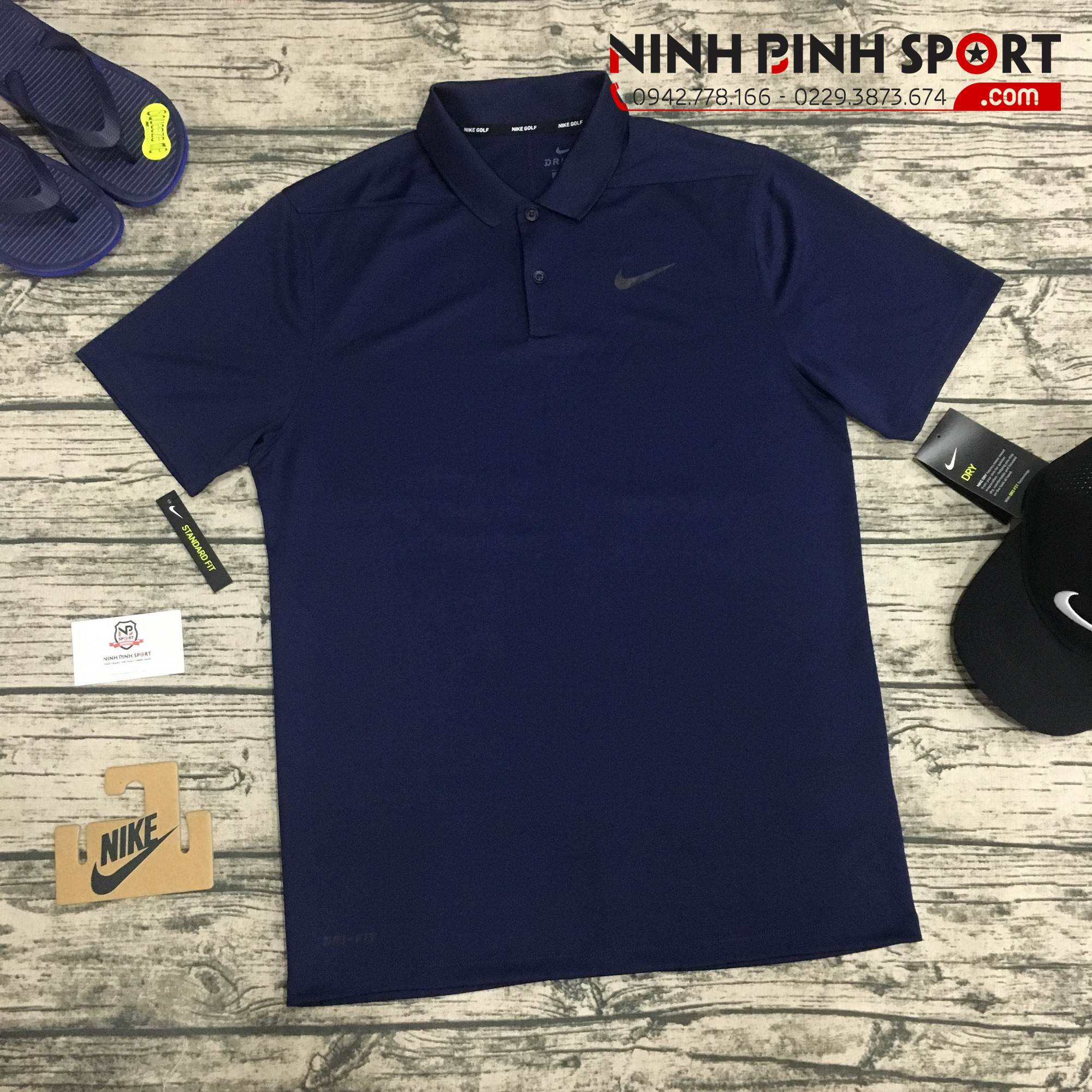 Áo Nike Men's Solid Dry Victory Golf Polo 891857-419