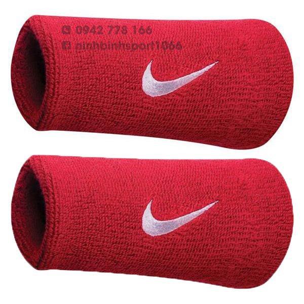 Băng tay thể thao Nike Swoosh Wristbands Doublewide NNN05010OS