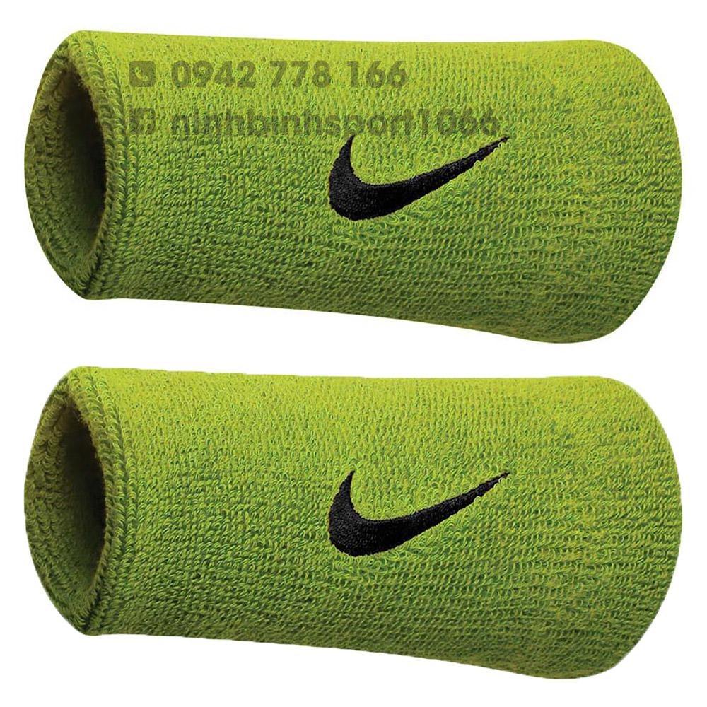 Băng tay thể thao Nike Swoosh Wristbands Doublewide NNN05710OS