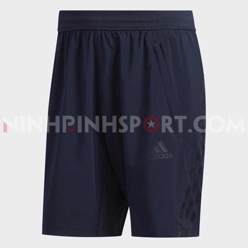 Quần thể thao nam Adidas AEROREADY 3-STRIPES 8in FL4390