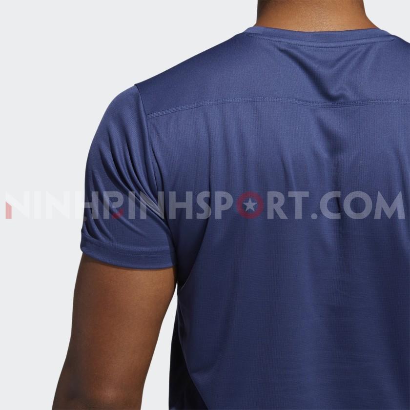 Áo thể thao nam Adidas RUN IT 3-STRIPES PB TEE FR8380
