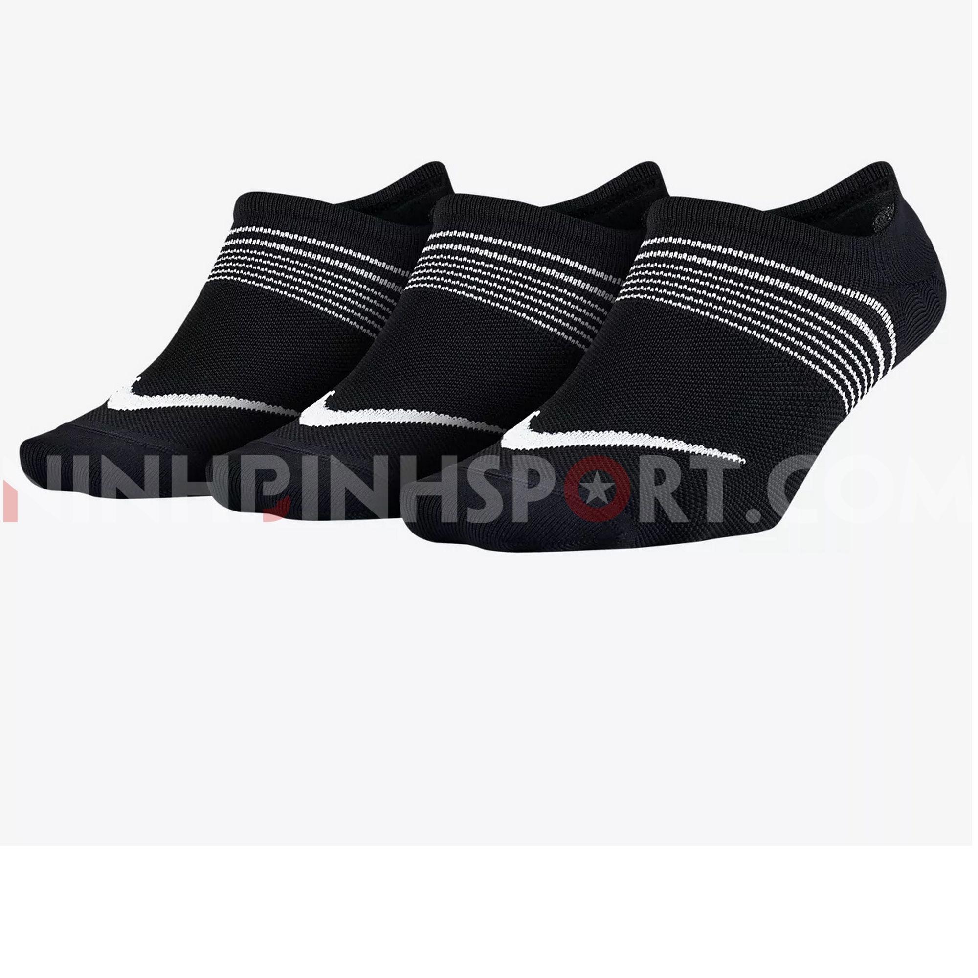 Tất thể thao nữ Nike Lightweight Training SX5277-010