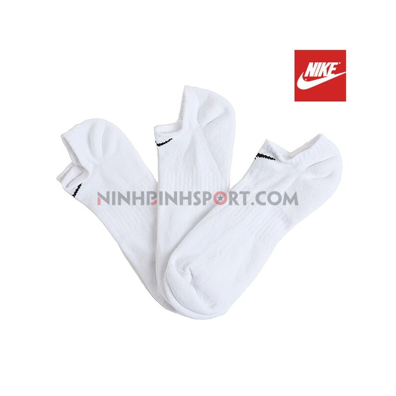 Tất thể thao Nike Everyday Cushion No-Show Socks SX7673-100