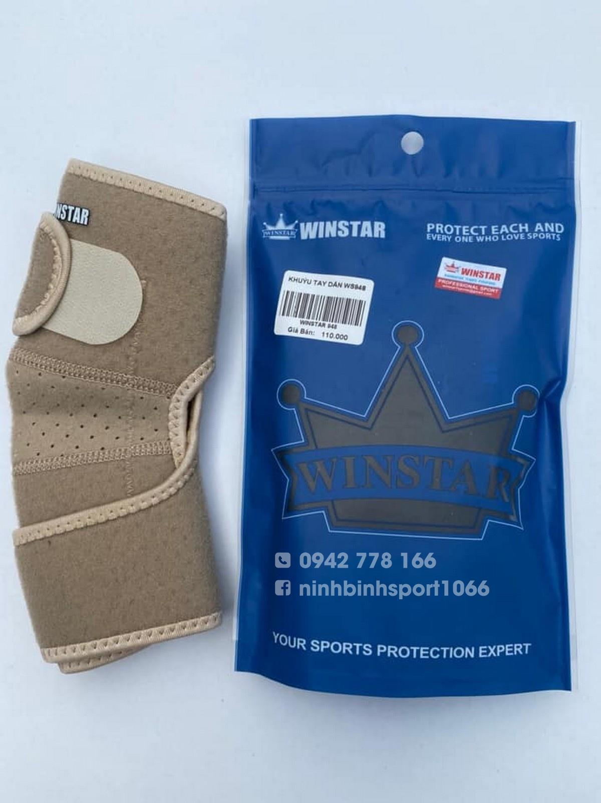 Bảo vệ khuỷu tay cao cấp Winstar WS948