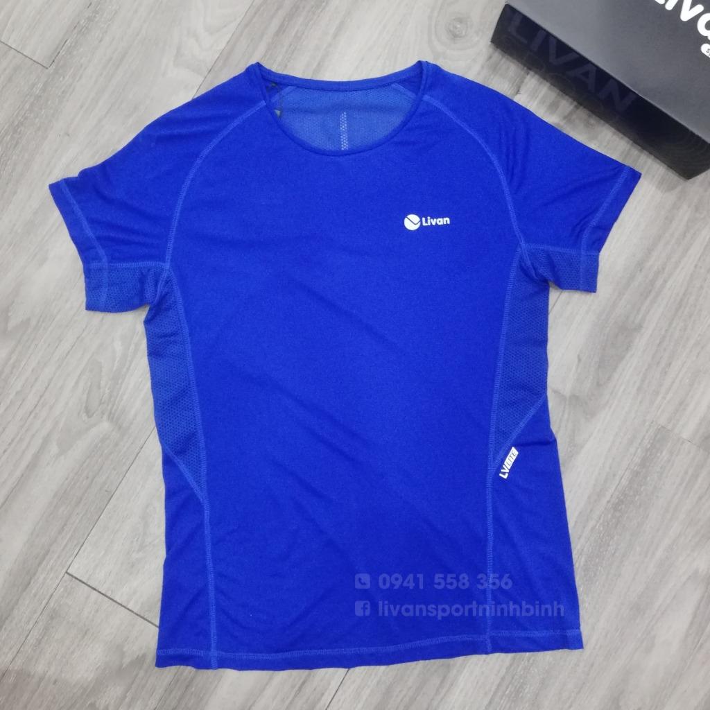 Áo Running nam Livan xanh dương LV20221060