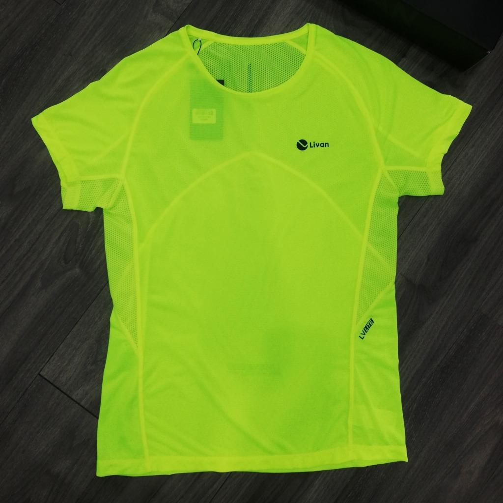 Áo Running nam Livan xanh LV20221060