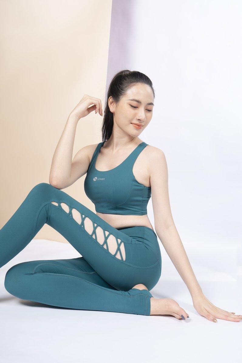 Set đồ tập Yoga Lily luxury LV21212203