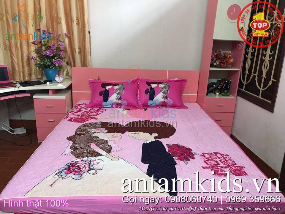 gatrải giường dễ thương dành chothanh thiếu niêncho tuổi teen cô dâu chú rể