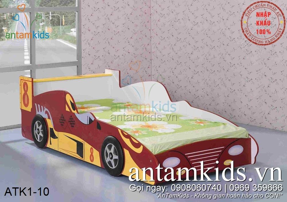 Giường ô tô cho bé trai giá rẻ, Giường ô tô trẻ em, Giường ô tô cho bé mê xe hơi