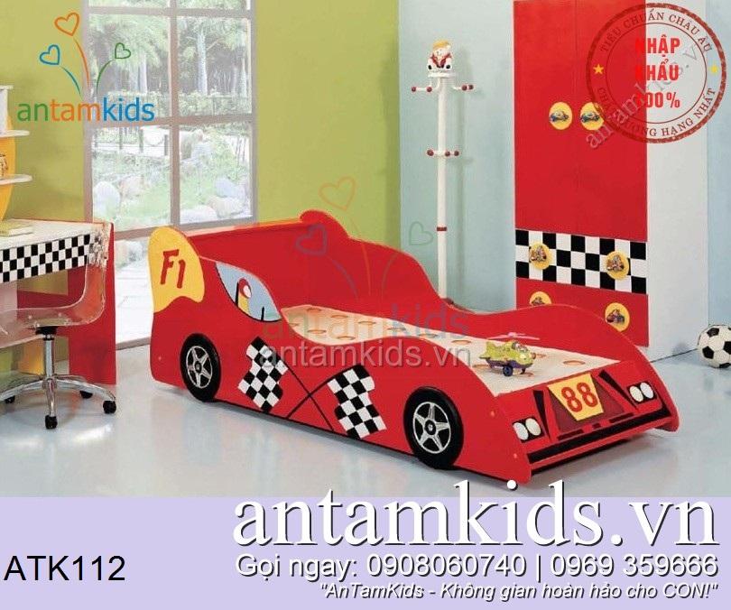 Giường ngủ trẻ em hình ô tô, Giường trẻ em hình ô tô, Giường cho bé hình xe hơi