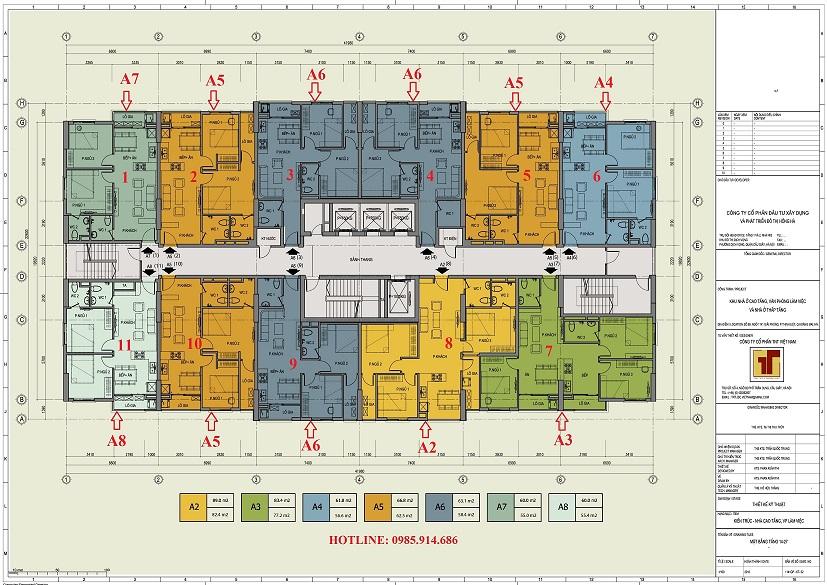 Ưu điểm nổi bật của căn hộ số 01 chung cư Hồng Hà Tower 89 Thịnh Liệt