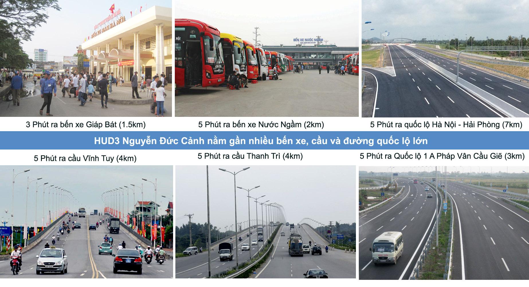 Giao thông HUD3 Nguyễn Đức Cảnh