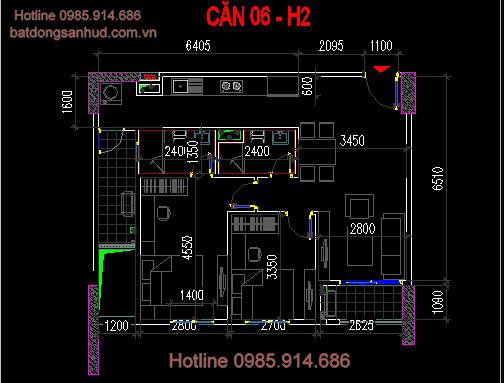 căn 6 tòa h2 hud3 nguyễn đức cảnh