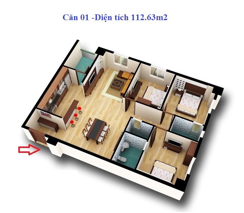 Chung cư d2ct2 Tây Nam Linh Đàm 2