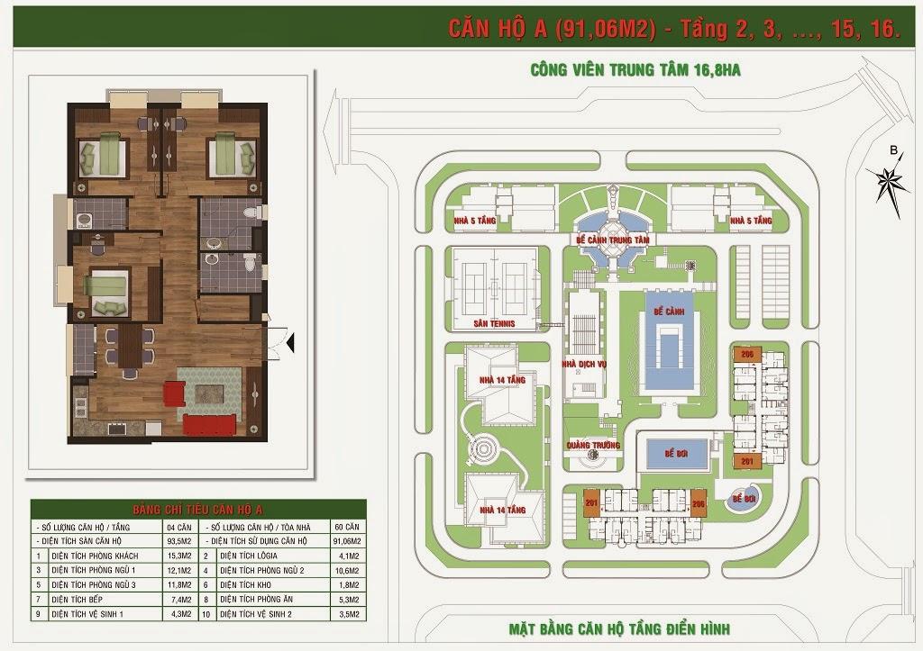 Chung cư GH5 và GH6 chung cư Green house Việt Hưng 1