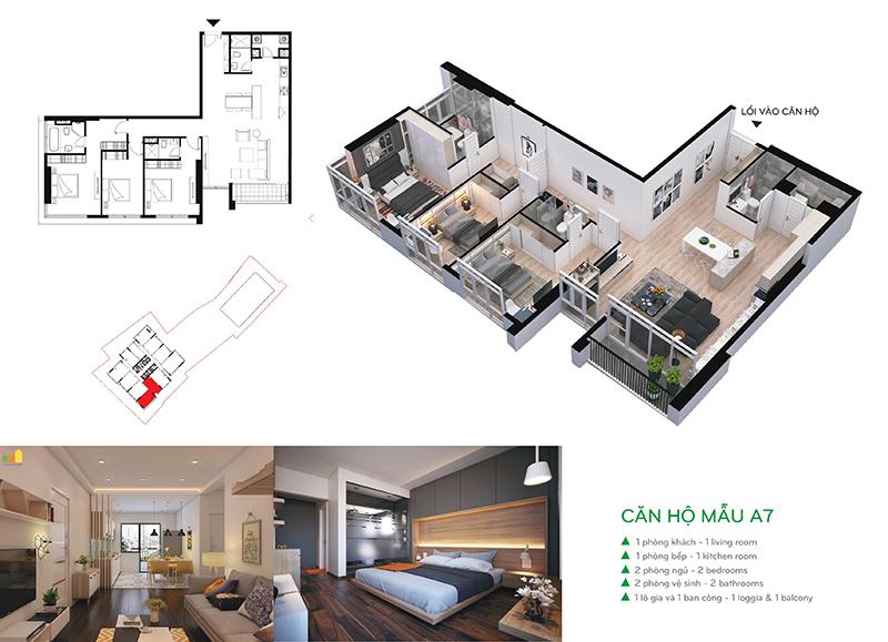 Căn hộ A7 chung cư CenterPoint