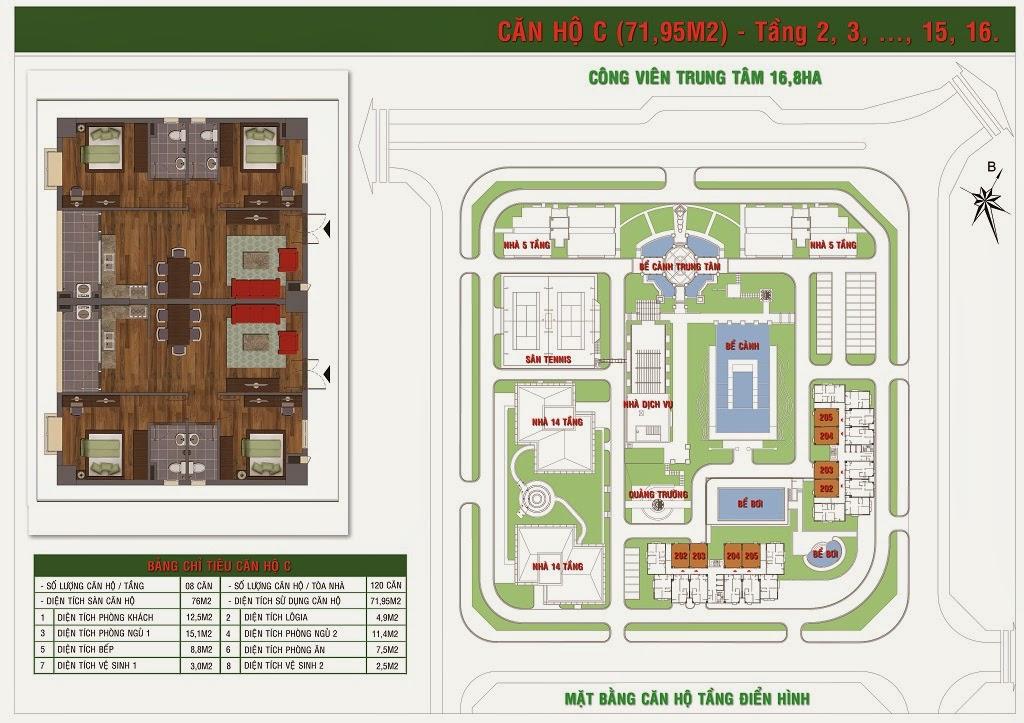 Chung cư GH5 và GH6 chung cư Green house Việt Hưng 3