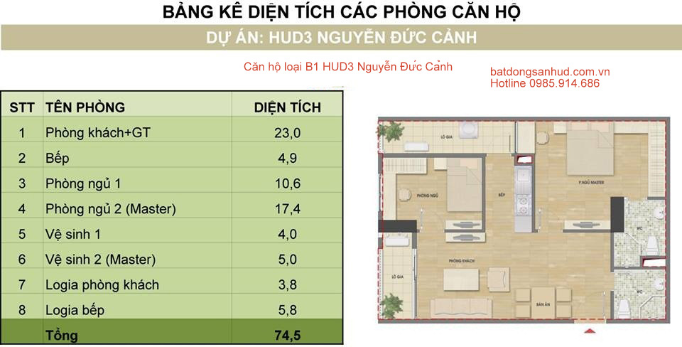 can 11 tòa h1 hud3 nguyen duc canh