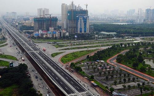 Quy mô dự án đường vành đai 3 tại Hà Nội