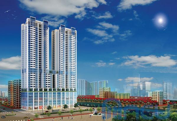 Trung tâm thương mại chung cư New Skyline Văn Quán