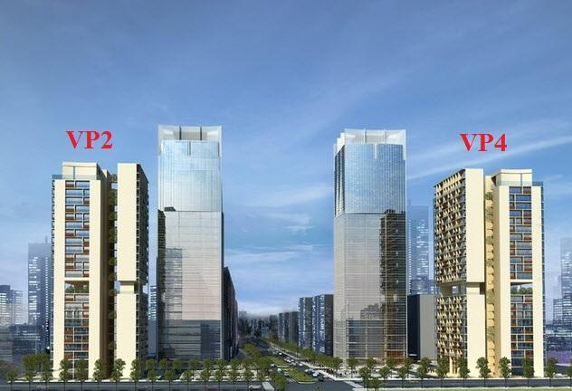 Chung cư VP2-VP4 bán đảo Linh Đàm
