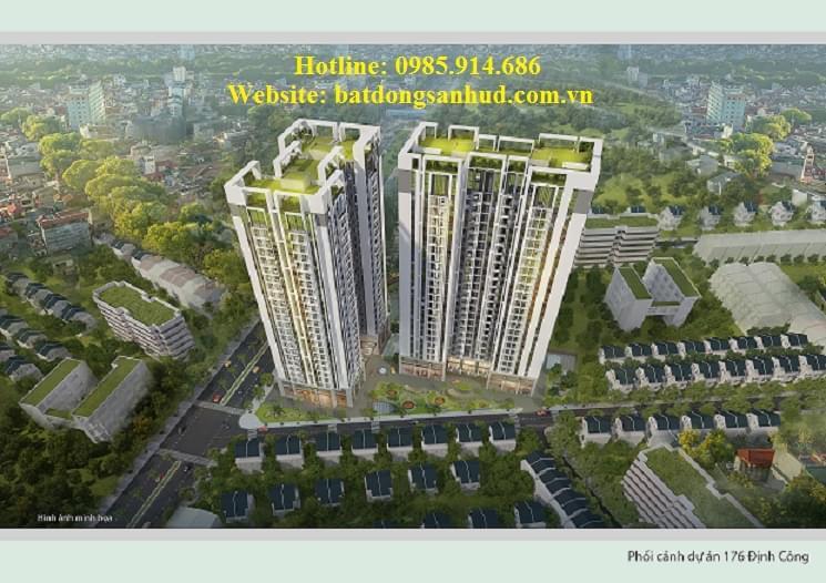 Cập nhật tiến độ dự án chung cư Hud3 Nguyễn Đức Cảnh