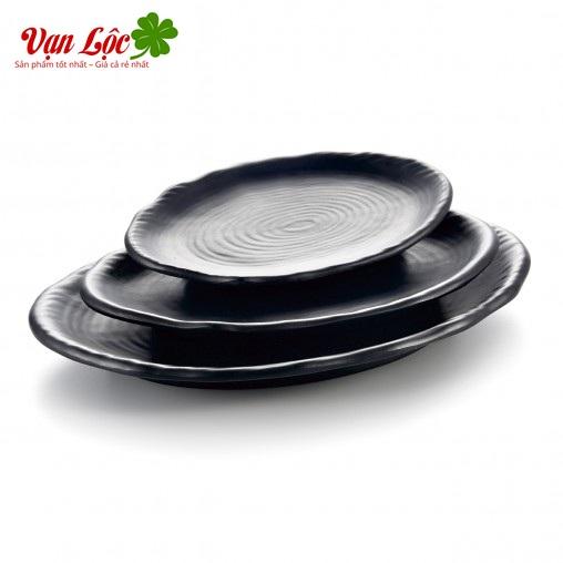 Bát đĩa đũa melamine sứ ngọc nhật hàn đẹp