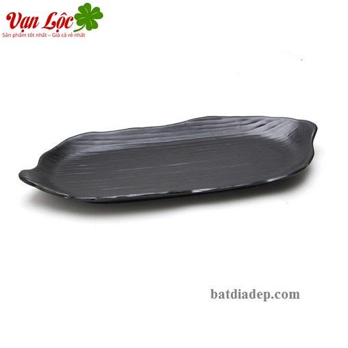bát đĩa melamine phíp đen nhật hàn thái lan