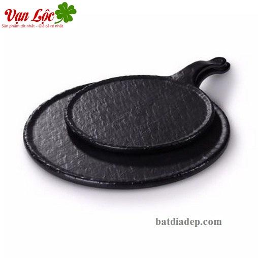 Bát đĩa nhựa đen hải phòng quảng ninh