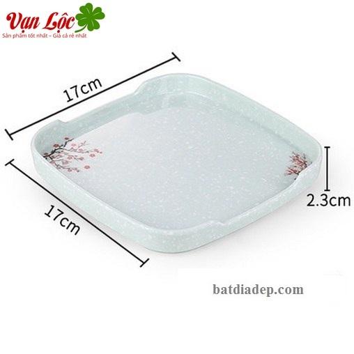 Bát đĩa nhựa phíp lẩu nướng đen sumo bbq