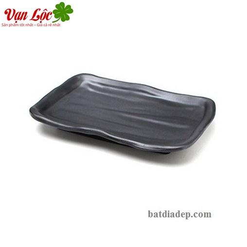 Bát đĩa sứ ngọc đen nhà hàng