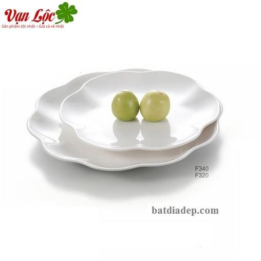 Bát đĩa sứ ngọc đẹp