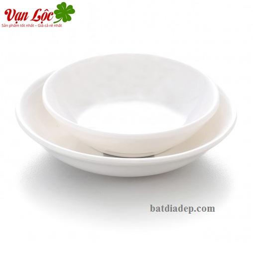 đĩa chén bát gia vị nhựa phíp melamine Nhật Hàn