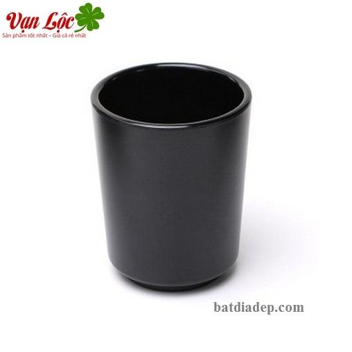 Ly cốc chén melamine sứ ngọc đen nhật bản hàn quốc