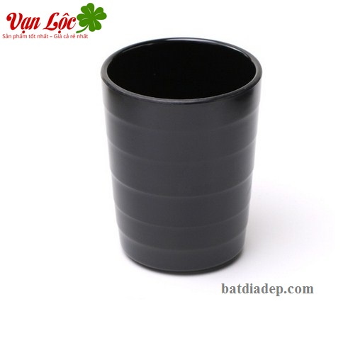 Ly cốc chén melamine sứ ngọc đen hàn quốc