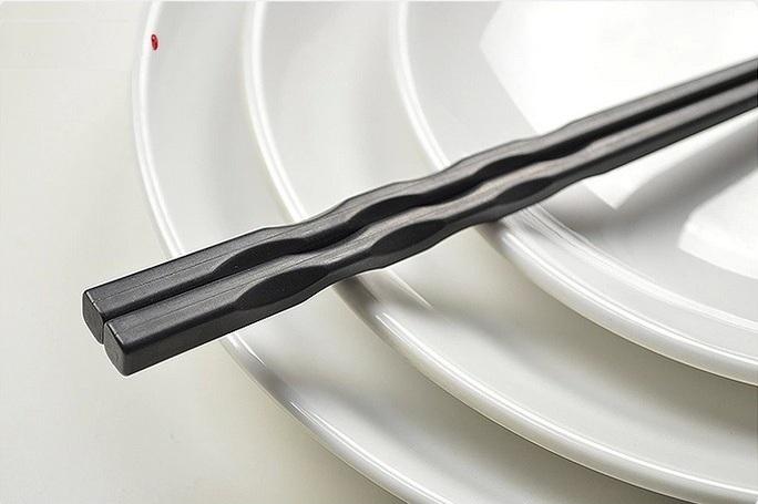Thìa Muỗng Đũa nhựa phíp inox Nhật Bản Hàn Quốc