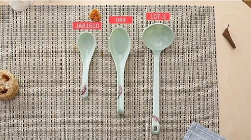 Thìa Muỗng melamine sứ ngọc Nhật Bản đẹp rẻ