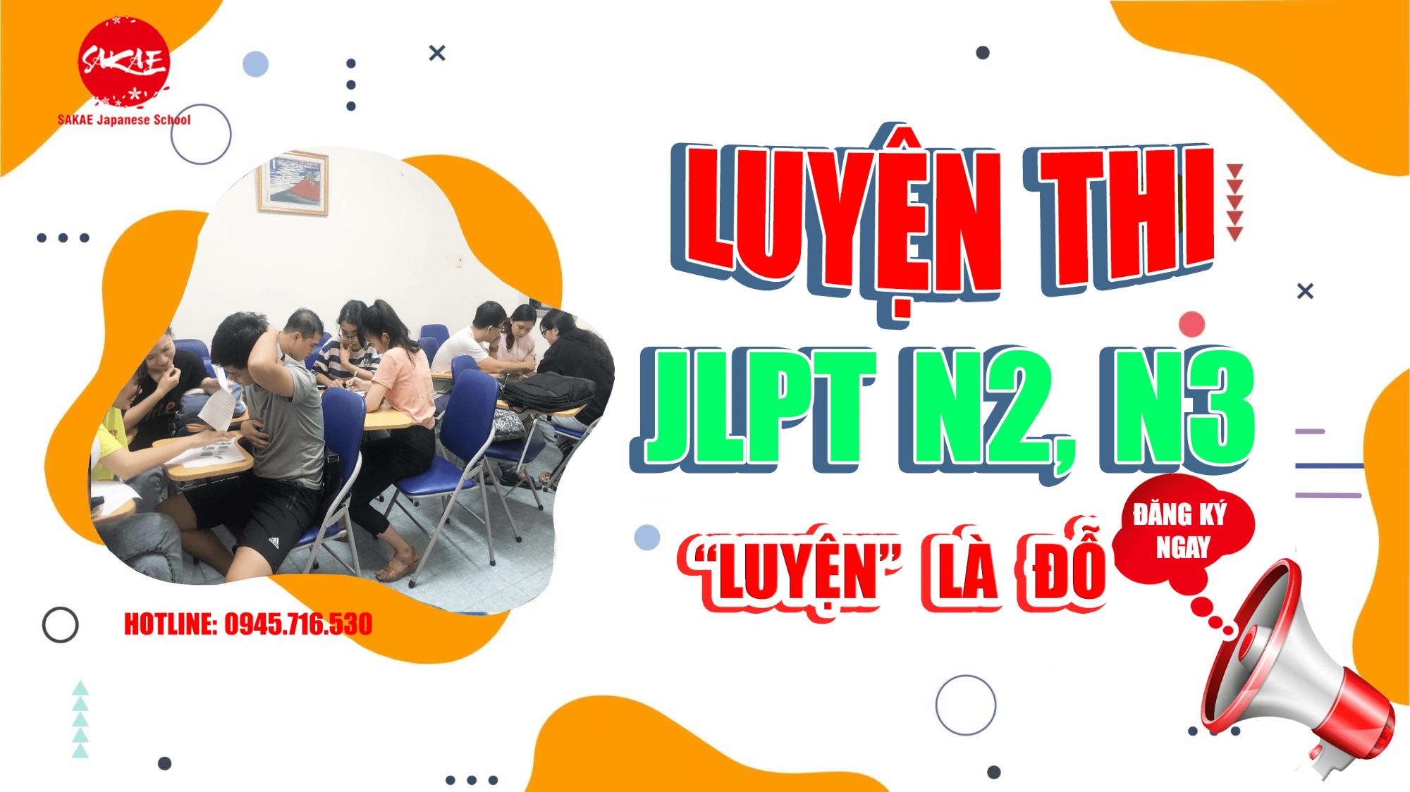 khóa luyện thi tiếng Nhật JLPT N3 tại Thủ Đức