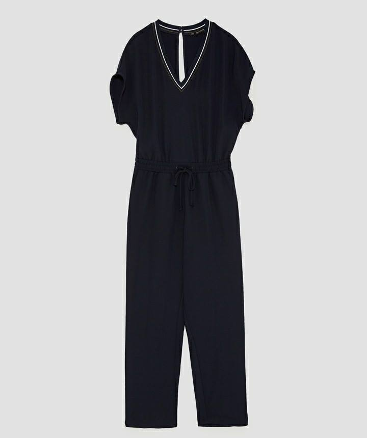 JUMPSUIT CỔ TIM ZR