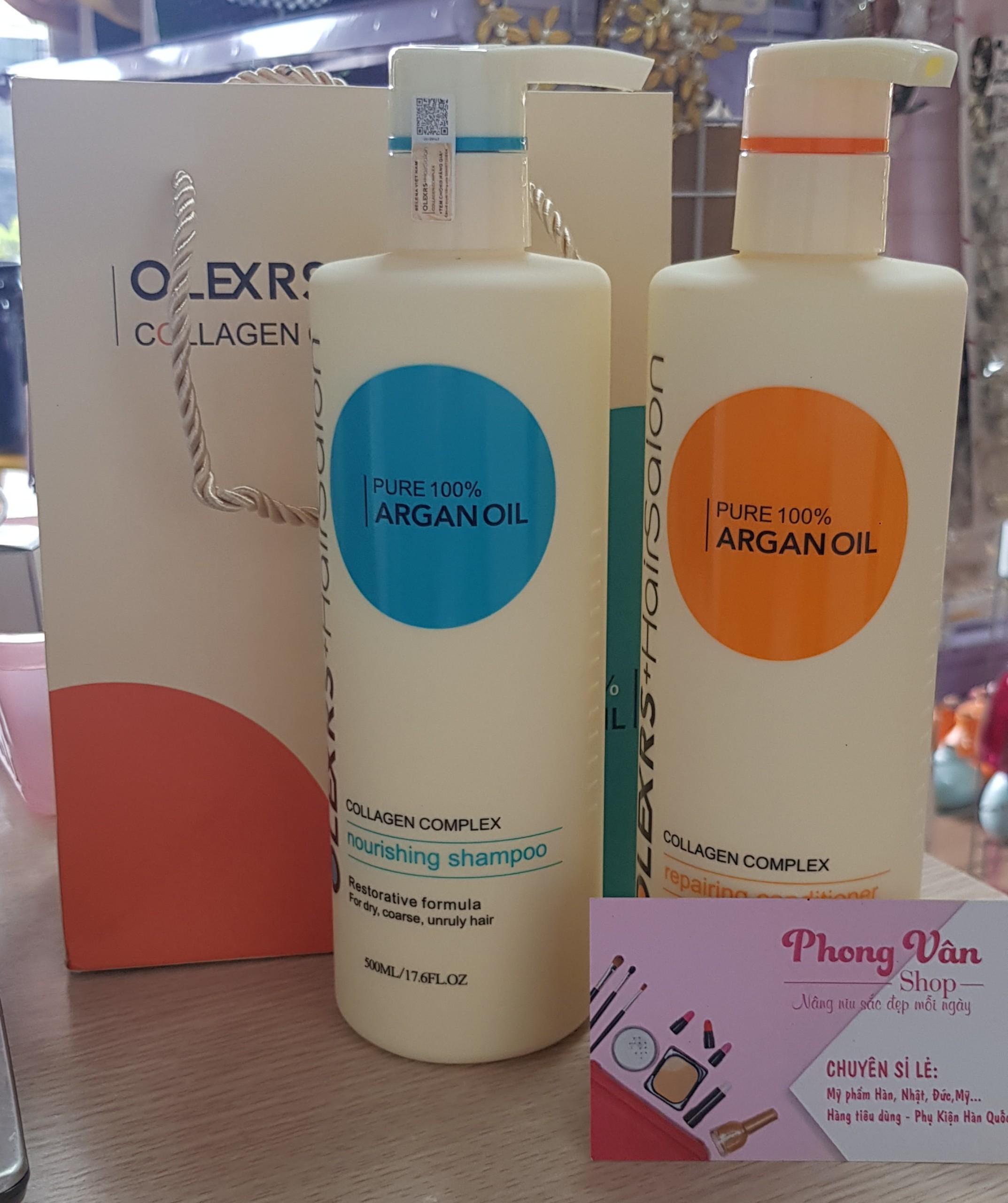 dau-goi-olexrs-hairsalon-argan-oil-collagen-complex-500ml