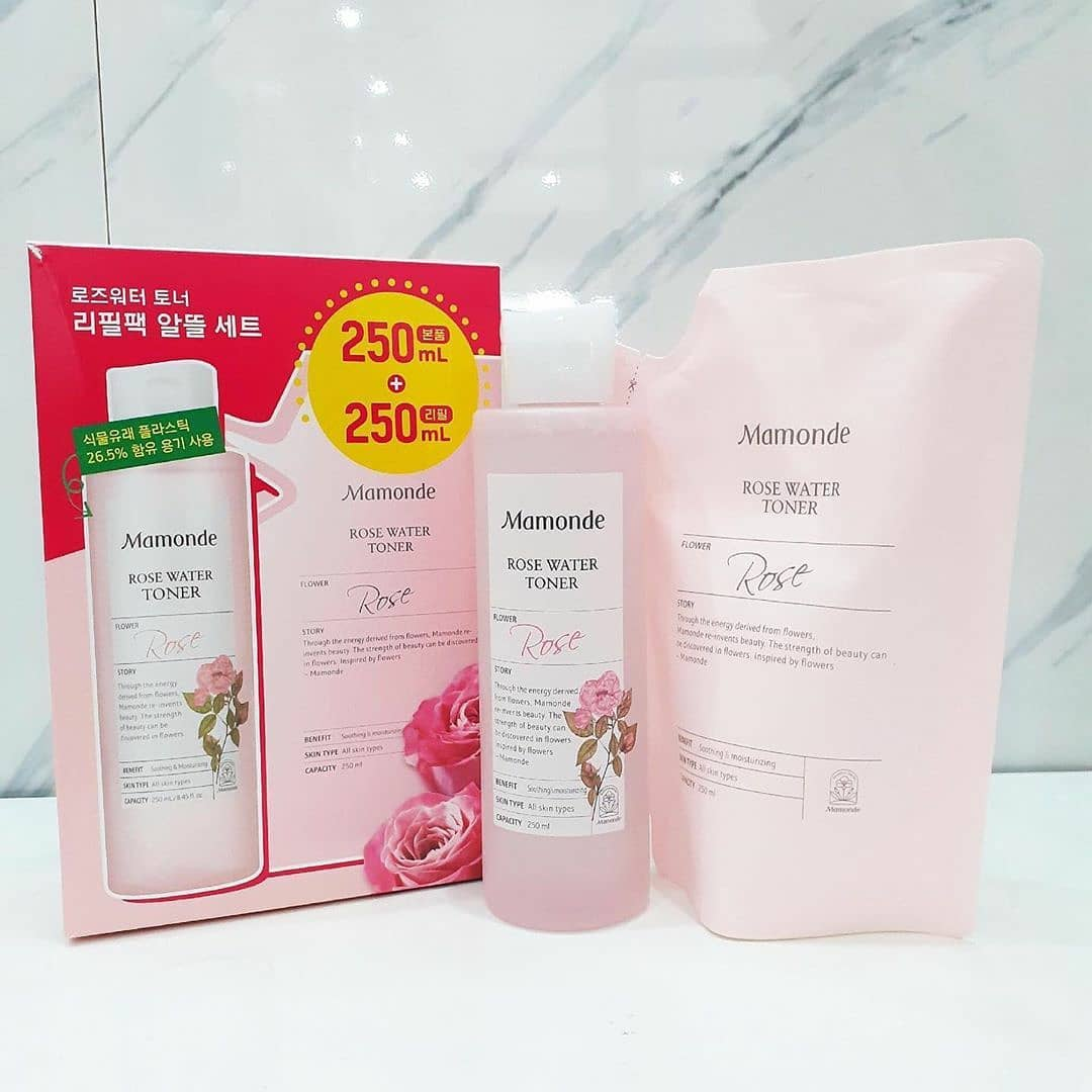 set-nuoc-hoa-hong-mamonde-250ml-250ml