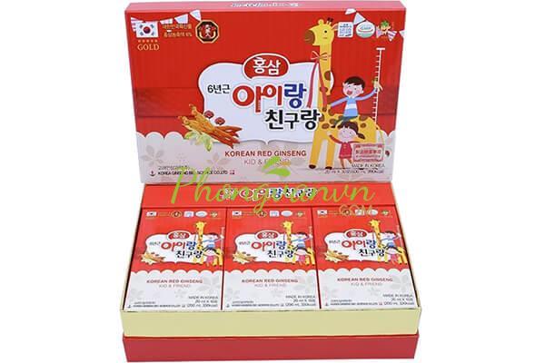 hong-sam-baby-huou-cao-co-thuong-hang-kid-friend-20ml-x-30-goi