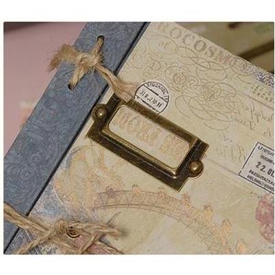Stick khung kim loại scrapbook_S117